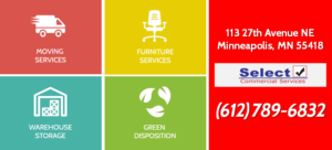 Minneapolis Commercial Mover Furniture Warehouse Green Disposition Services Website Icons